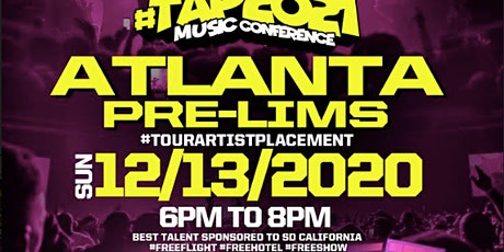 #Tap2021 Pre-Lims Artist Performance 50% Deposits tickets