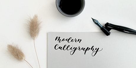 Modern calligraphy workshop for beginners and improvers tickets