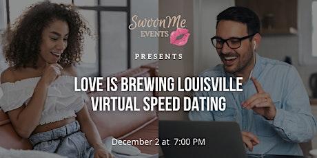 Love is Brewing Virtual Speed Dating Grand Rapids, MI tickets