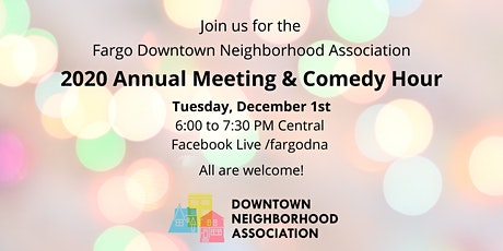 2020 Annual Meeting & Comedy Hour tickets