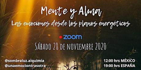 Webinar En Vivo   Mente y Alma boletos
