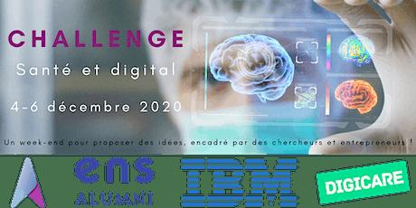 Challenge Santé et Digital billets