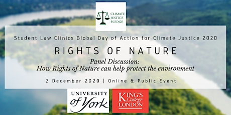 Panel Discussion: Rights of Nature tickets