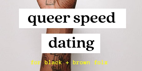 Queer / Trans Virtual Speed Dating - for QTPOC tickets