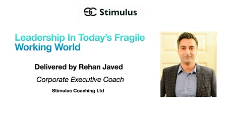 Leadership In Today's Fragile Working World tickets