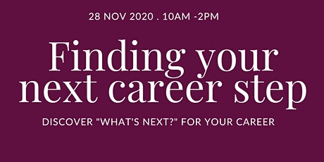 Finding your next career step tickets