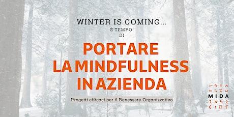 Portare la Mindfulness in Azienda biglietti