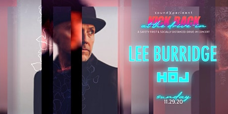 Kick Back at the Drive In! | Lee Burridge + HOJ tickets