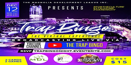 Trap Bingo: A Virtual Experience #StayHomeStaySafe tickets