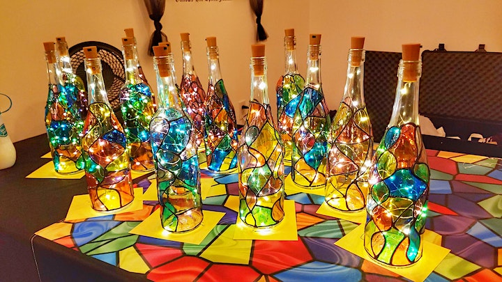 Make N Take Event - Stained Glass Bottles image