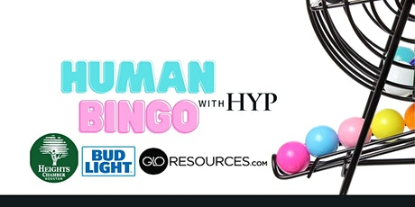 Human Bingo with HYP tickets