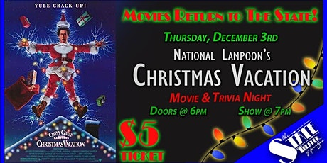 National Lampoon's Christmas Vacation - $5 Movie & Trivia Night tickets
