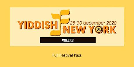 Yiddish New York - Full Festival Pass tickets