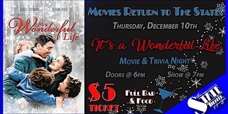 It's a Wonderful Life - $5 Movie & Trivia Night tickets
