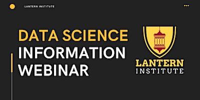 ONLINE EVENT: Free Data Information Science Webinar
