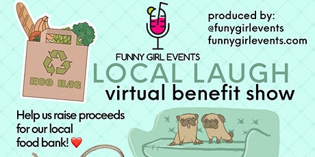 Virtual Local Laugh Fundraiser tickets