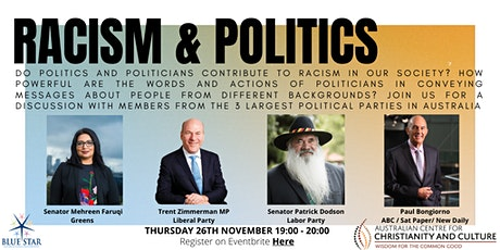Conversations on Racism: Racism and Politics tickets