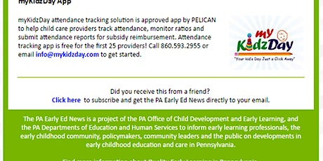 User Training of PA Approved Attendance Tracking and Reporting App! tickets