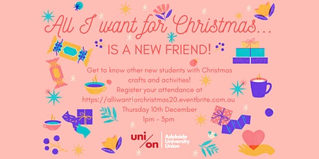 All I want for Christmas... Is a new friend! tickets