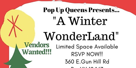 Pop up Queens Presents A Winter WonderLand tickets