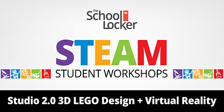 Studio 2.0 3D LEGO Design & Virtual Reality Workshop tickets