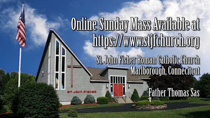 Saturday Vigil Mass ~ February 27, 2021 image