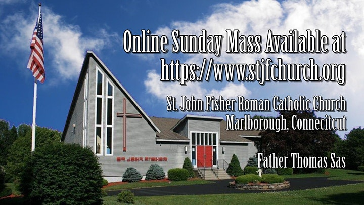 Saturday Vigil Mass ~ April 10, 2021 image