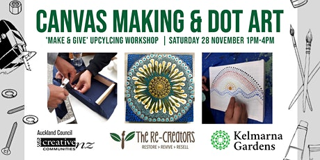 Canvas Making & Dot Art, with the Re-Creators tickets