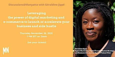 A virtual Discussions@Manyatta - November 26th 2020 tickets