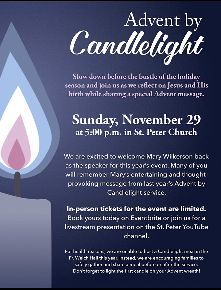 Advent by Candlelight image