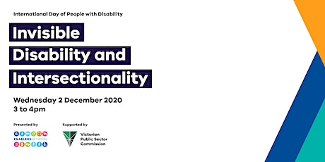 Invisible Disability and Intersectionality tickets
