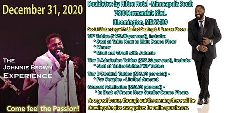 Johnnie Brown - News Year's Eve 2021 Celebration tickets