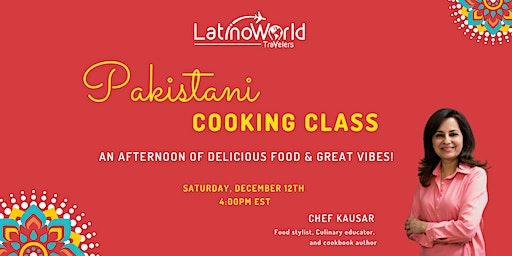 Pakistani Cooking Class