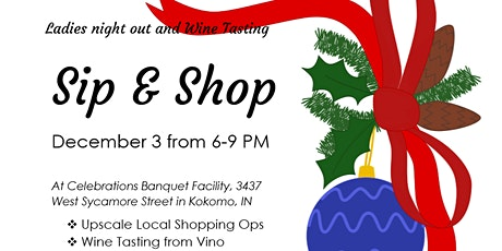 Sip & Shop Ladies night out (over 18 only) tickets
