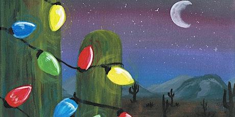 Paint Party: Festive Cactus tickets