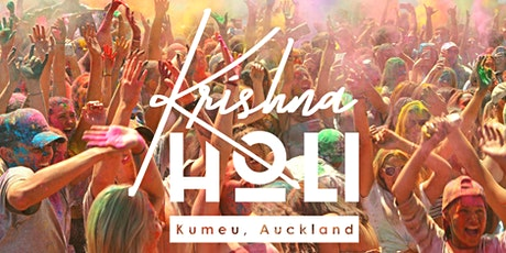 Krishna Holi - Festival of Colours Auckland 2021 tickets