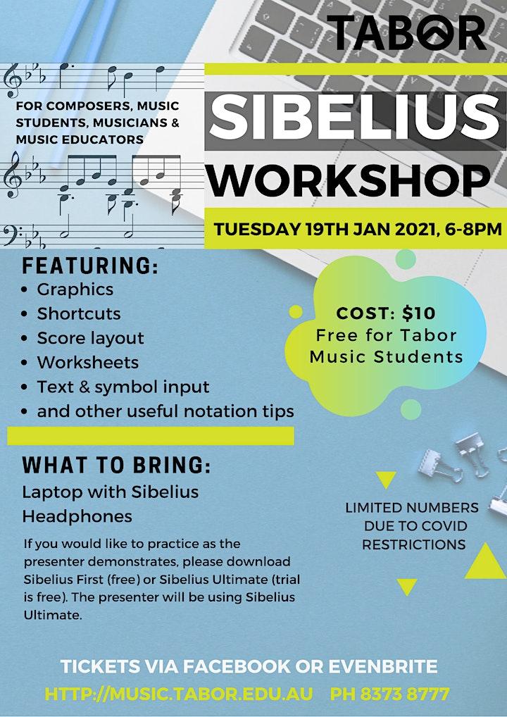 Sibelius Workshop image