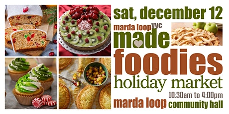 Marda Loop YYC MADE FOODIES Holiday Market tickets