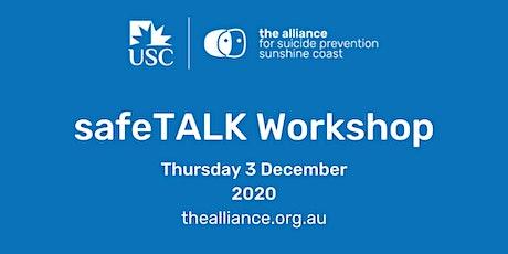 safeTALK suicide-alertness workshop tickets