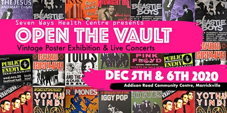 """Open the Vault"" Vintage Poster Exhibition & Live Concerts 5th-6th December tickets"