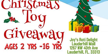 Winter Wonderland Toy Give Away in Lauderhill tickets