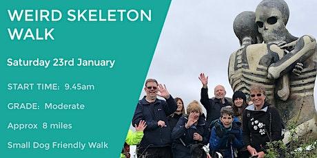 WEIRD SKELETON WALK | 8 MILES | MODERATE WALK tickets