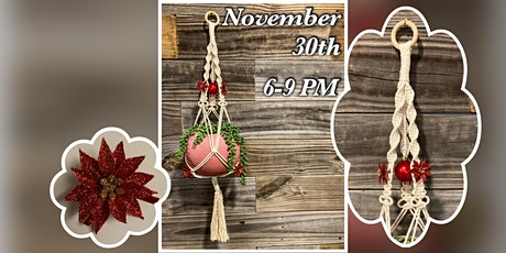 Macrame Monday : White Plant Hanger tickets