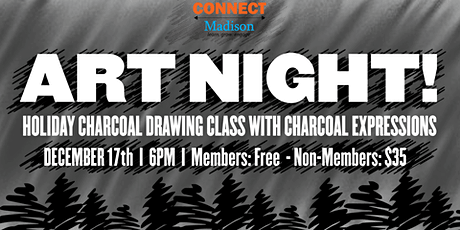 ART NIGHT! Drawing with Charcoal Expressions tickets