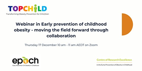 Childhood obesity prevention: advancing the field through collaboration tickets