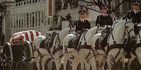 John F. Kennedy Funeral Program Cancelled - Will Be Rescheduled TBD Date tickets