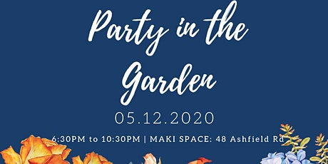Party in the Gardens tickets