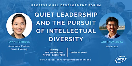 Quiet Leadership and the Pursuit of Intellectual Diversity tickets