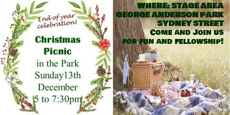 CHURCH FAMILY CHRISTMAS PICNIC tickets
