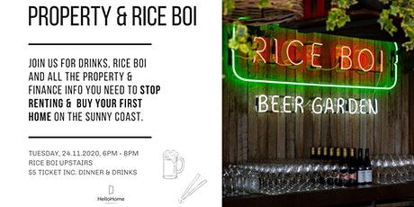 Property and Rice Boi tickets
